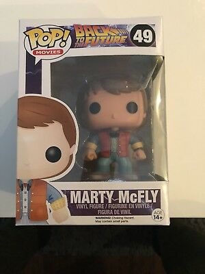 Funko Pop Movies: Back to the Future - Marty McFly