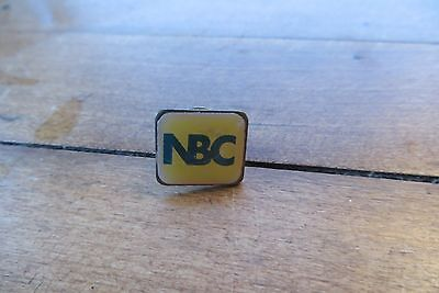 NBC pin, National Broadcasting Company, television