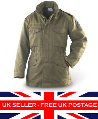 Genuine M65 Army Issue Surplus Jacket Combat Heavy Duty Winter Military Coat Jkt