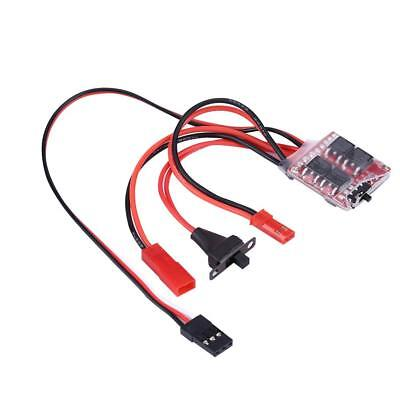 20A Brushed ESC Work with 130/180/260/280/380 Brushed Motor for RC Car/Boat/Tank