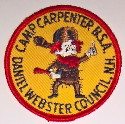 Camp Carpenter Daniel Webster Council Patch