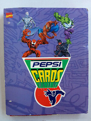 """Marvel Pepsi Cards 1994"" mexican collection edition. Complete 113 cards"