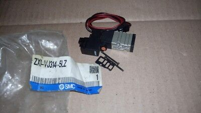 New SMC Corporation ZX1-VJ314-5LZ  Solenoid Valve 24VDC