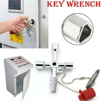 Multi-function Triangular Key Wrench Home Electric Control Cabinet Wrench Tool
