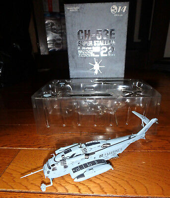1/144 Ch-53E Super Stallion Hmm-264 Black Knights Eh22 Usmc New River S14 Japan