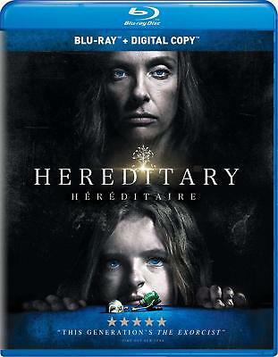 Hereditary (Blu-ray/Digital, 2018, Canadian version WITH FRENCH)