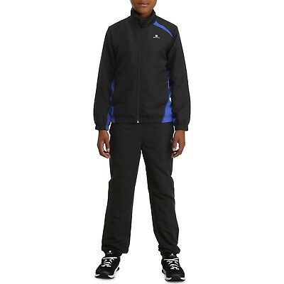 Youth Girls Boys Tracksuit Casual Sports Fitness Track Suit Trouser Jacket Kids
