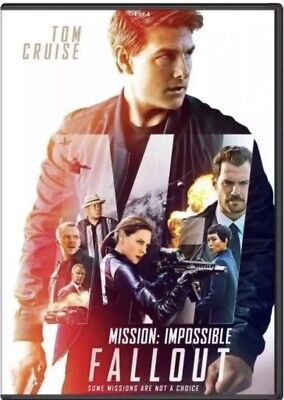 """mission Impossible: Fallout"" (Dvd 2018) Shipping Now!!!!"