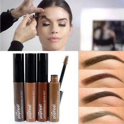 💙Professional Eyebrow Tint Dye 4 Colours with Waterproof long-lasting Genuine