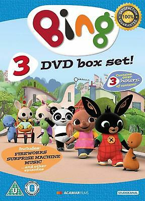Bing Triple Pack DVD 2017 Children Animated Show Episode Collection Video Clip