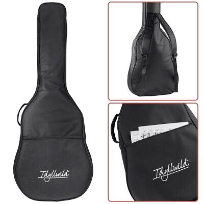 20mm Padded Acoustic Guitar Gig Bag Case Carry Soft Cover Backpack Double Straps