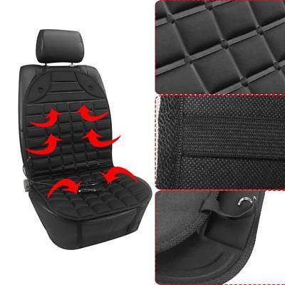 Electric Massage Chair Pad Seat With Heat Office Car Cushion Back Neck Vibration