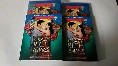 Crazy Rich Asians Blu-ray + DVD + Digital