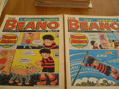 The Beano Comic Issue's No 2420 / 2421 1988