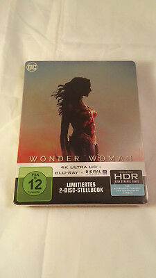 Wonder Woman 4K UHD HDR Blu Ray Steelbook