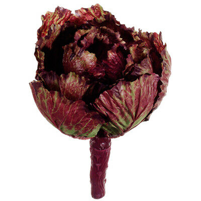 """11"""" Artificial Cabbage Pick -Purple/Green (pack of 12)"""
