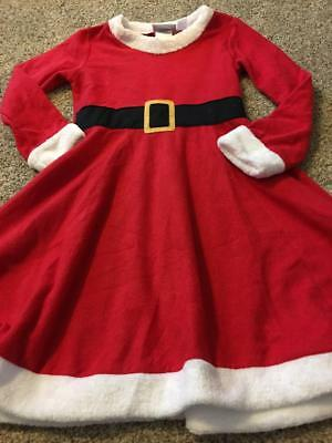 Saras Prints- Mrs. Claus red and white Nightgown- Beautiful- Girls size 6 5bdc00257