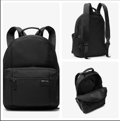 858aedc54fb96d NWT Authentic MICHAEL KORS Travis Nylon Backpack in Black w/ Shopping Bag  $298