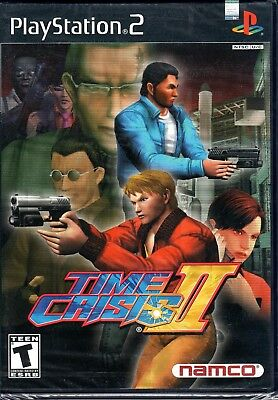 Time Crisis II (Sony PlayStation 2, 2001) Brand NEW Factory Sealed