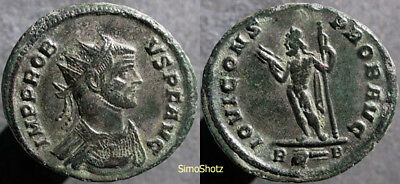 Ancient Roman Coin - Bronze (Billon) Antoninianus of Probus - Jupiter Reverse