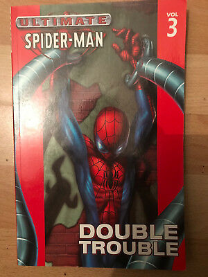 Ultimate Spider-Man 3 Double Trouble paperback TPB graphic marvel Brian bendis