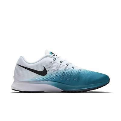 Nike Air Zoom Elite 9 Mens Size 12 Running Shoes White Space Blue  120 8c9d9ab3a