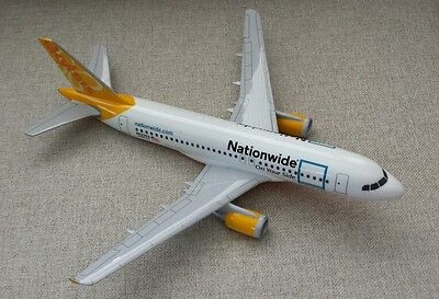 IDT Jets Executive Nationwide N522VA Skybus Airbus A319 1/100 Model Airplane