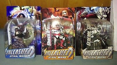 Star Wars Unleashed Yoda Sidious Shock Trooper General Grievous New