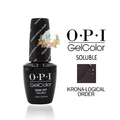 OPI Gel Color Soak Off Soluble Nail Polish - I55 KRONA-LOGICAL ORDER