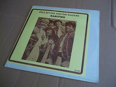 Paul Revere and the Raiders – Rarities rare live double LP Not Tmoq SEALED