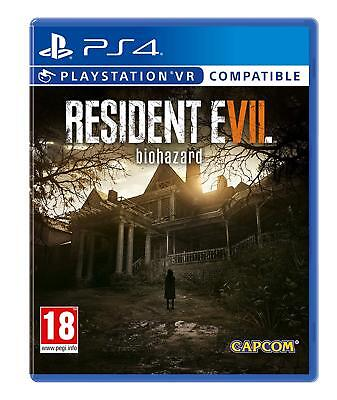 Resident Evil 7 Biohazard PS4 PS VR Compaible Playstation 4 NEW