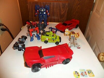 Mixed Lot of 13 Transformers Complete & Incomplete