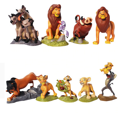 The Lion King 4 Disney Simba 9pcs Nala Timon Figure PVC Action Figures Tos Gifts
