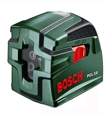 BOSCH PCL 10 Self Levelling Cross Line Laser Level (Plumb), comes with Case