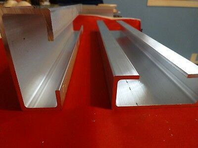 """Aluminum 'c' Channel 3"""" X 1 1/4"""" X 14"""" In Length"""