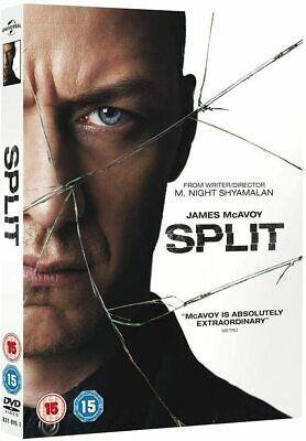 Split DVD + Digital Download  with James McAvoy New (DVD  2017)