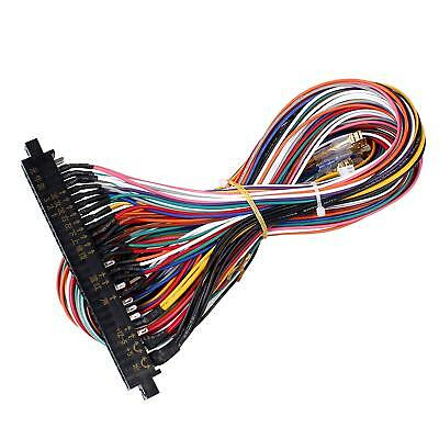56 pin jamma harness wire wiring loom for arcade game pcb $13 89arcade game console pcb cable jamma 60 in 1 wire 56pin interface wiring harness