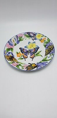 """American Atelier """" Butterfly"""" Design-C Salad Plate 8"""""""