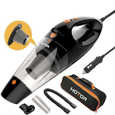 Car Vacuum, Hotor Corded Car Vacuum Cleaner High Power For Quick Car Cleaning, D