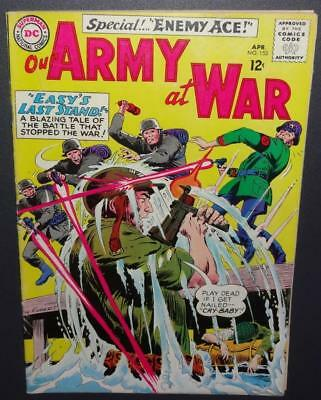 Our Army At War #153 1965 5.0 VG/FN 2nd appearance Enemy Ace-BV=$50 40%Off