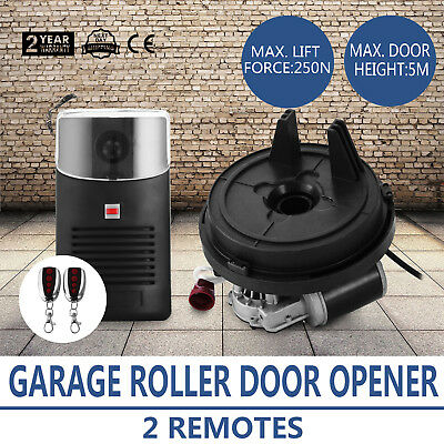 Automatic Garage Door Opener Roller Remote Electronic 250N Lift Force 80W