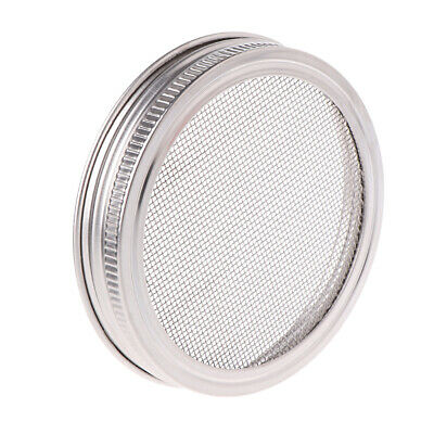 Stainless Steel Lid Strainer Sprouting Filter for Wide Mouth Mason Canning Jar