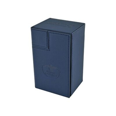 Ultimate Guard Flip N Tray Deck Case 80+ Xenoskin Blue