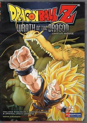 Dragon Ball Z Movie Wrath of the Dragon DVD 2006 Anime Uncut