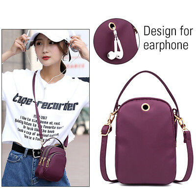 Women Girls Mini Shoulder Bags Small Cross Body Bag Cell Phone Purse Holder AU