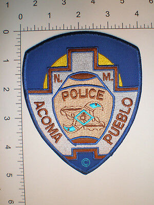 NM New Mexico Pueblo of Acoma Indian tribe Native American Tribal Police patch