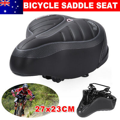 Large Bum Bike Bicycle Ladies Cycling Sprung Saddle Seat Unisex Comfortable NSW