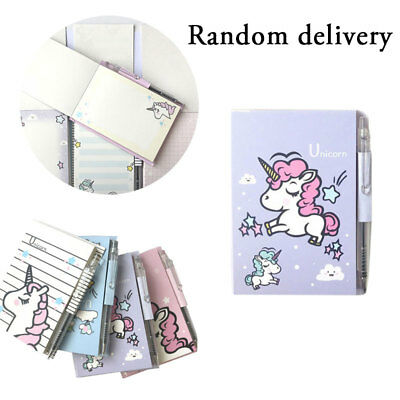 Mini Portable Unicorn Printed Journal Notebook Diary Notebook School Supplies