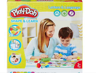 B3407 Hasbro Play-Doh Shape and Learn Letters and Language