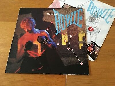 David Bowie - Let's Dance - 1983 Lp With Inner Sleeve Ex- Lots More Bowie Look!